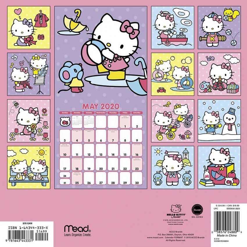 Hello Kitty Calendar | Free Resume Templates