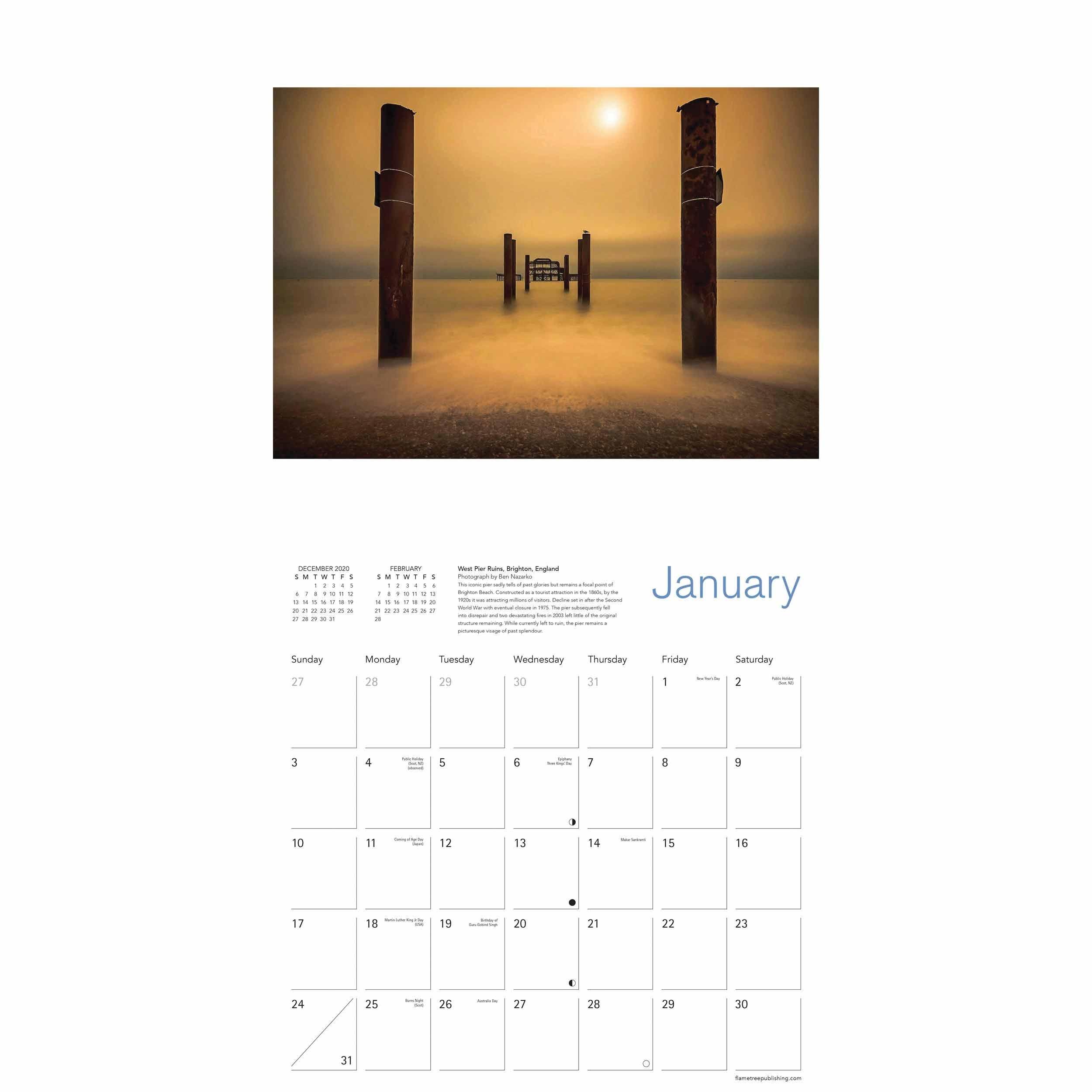 Historic Photographer Of The Year Calendar 2021 At Calendar Club