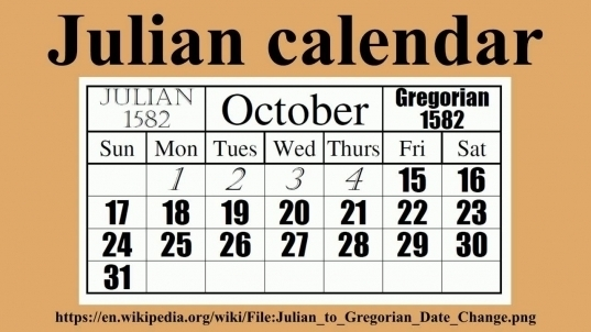 How To Read The Julian Calendar | Printable Calendar Template 2020