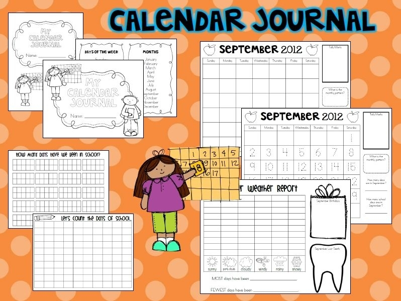 I Really Enjoy Calendar Time. You Go Through So Many Skills In Such A Short Amount Of Time. And