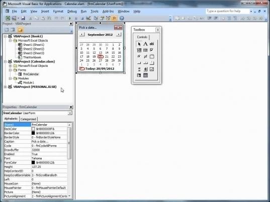Insert Calendar Drop Down In Excel | Printable Calendar Template 2020