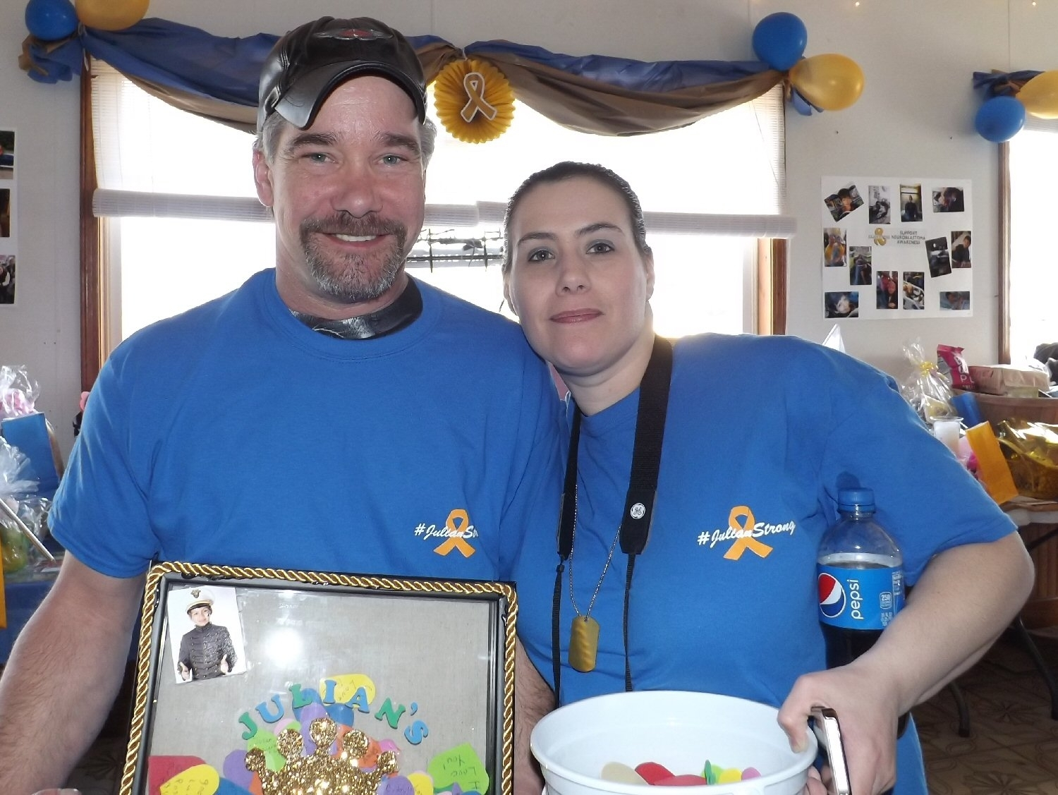 Julian'S Army Turns Out In Force At Fundraiser - Oswego County Today