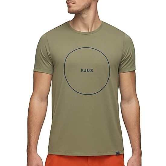 Kjus M Kjus T-Shirt, Army Green - Fast And Cheap Shipping - Www.exxpozed
