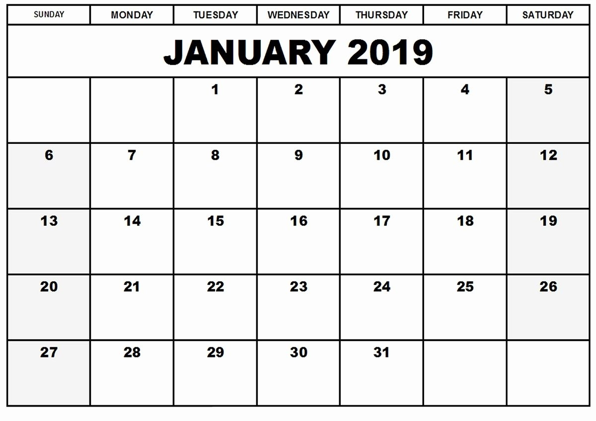 Lovely 48 Design Printable Calendar For 2019 And 2019 | Monthly Calendar Printable, Printable