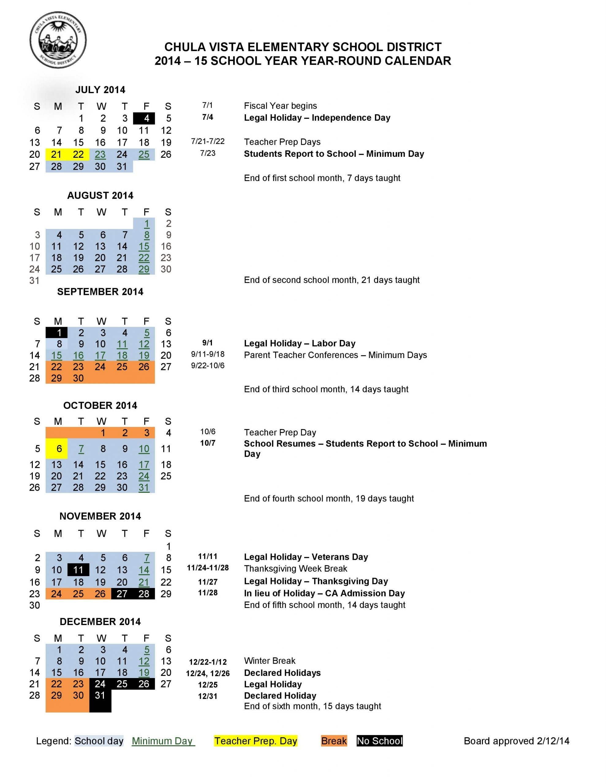 Military School: Military School Daily Schedule