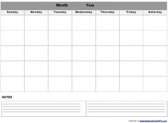 Monthly Calendar Templates Editable | Printable Calendar Template 2020