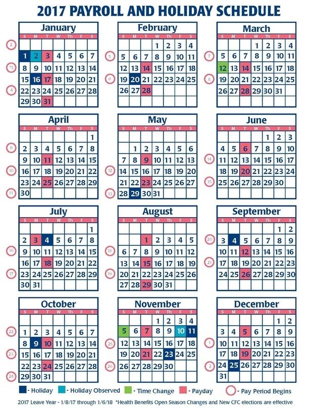 Opm Federal Holiday Calendar 2020 | Anexa Wild