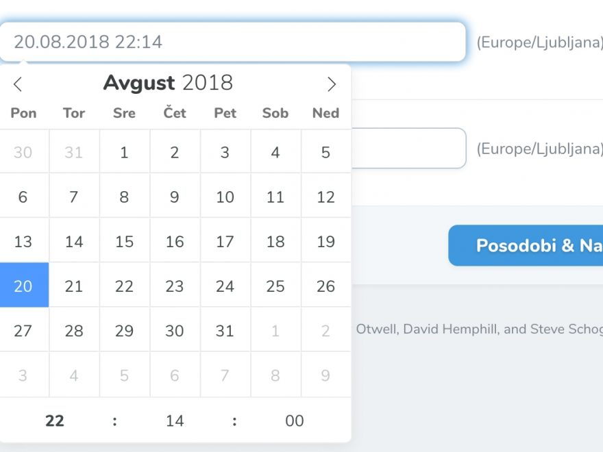 Php Calendar Date Picker | Calendar For Planning