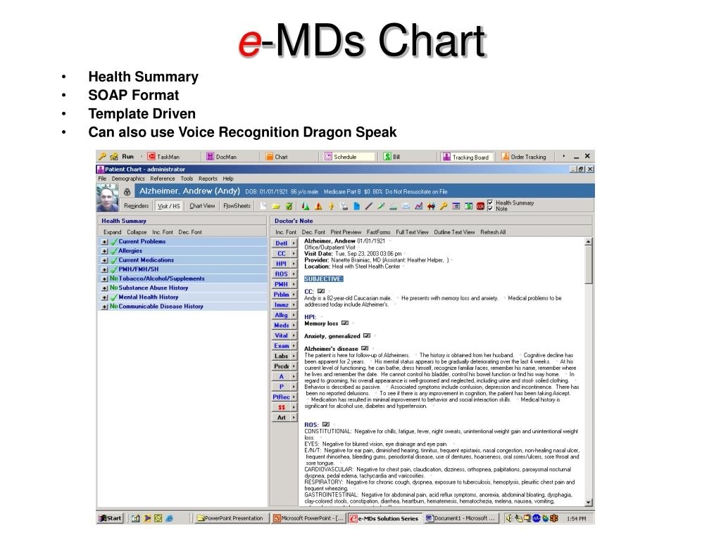 Ppt - E -Mds Chart Powerpoint Presentation, Free Download - Id:315907