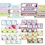 Free Printable Classroom Calendar Numbers