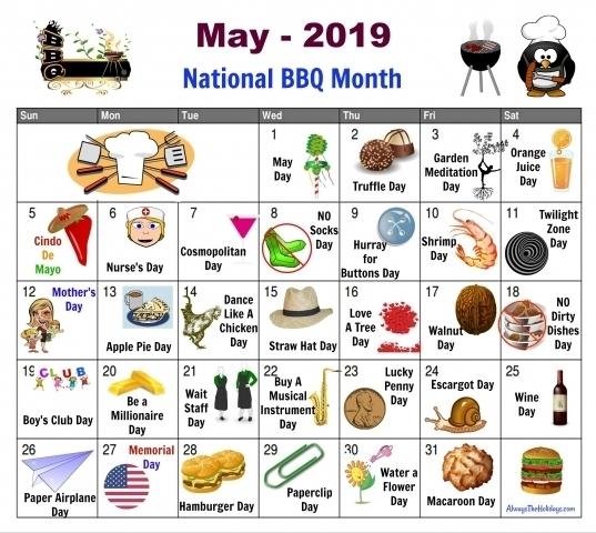 Printable Calendar With National Days | Printable Calendar Template 2020