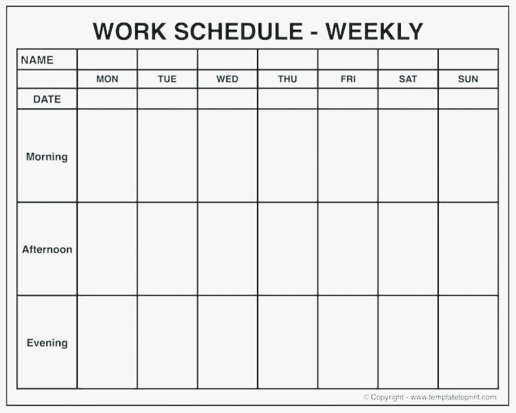 Printable One Week Calendar With Time Slots | Example Calendar Printable