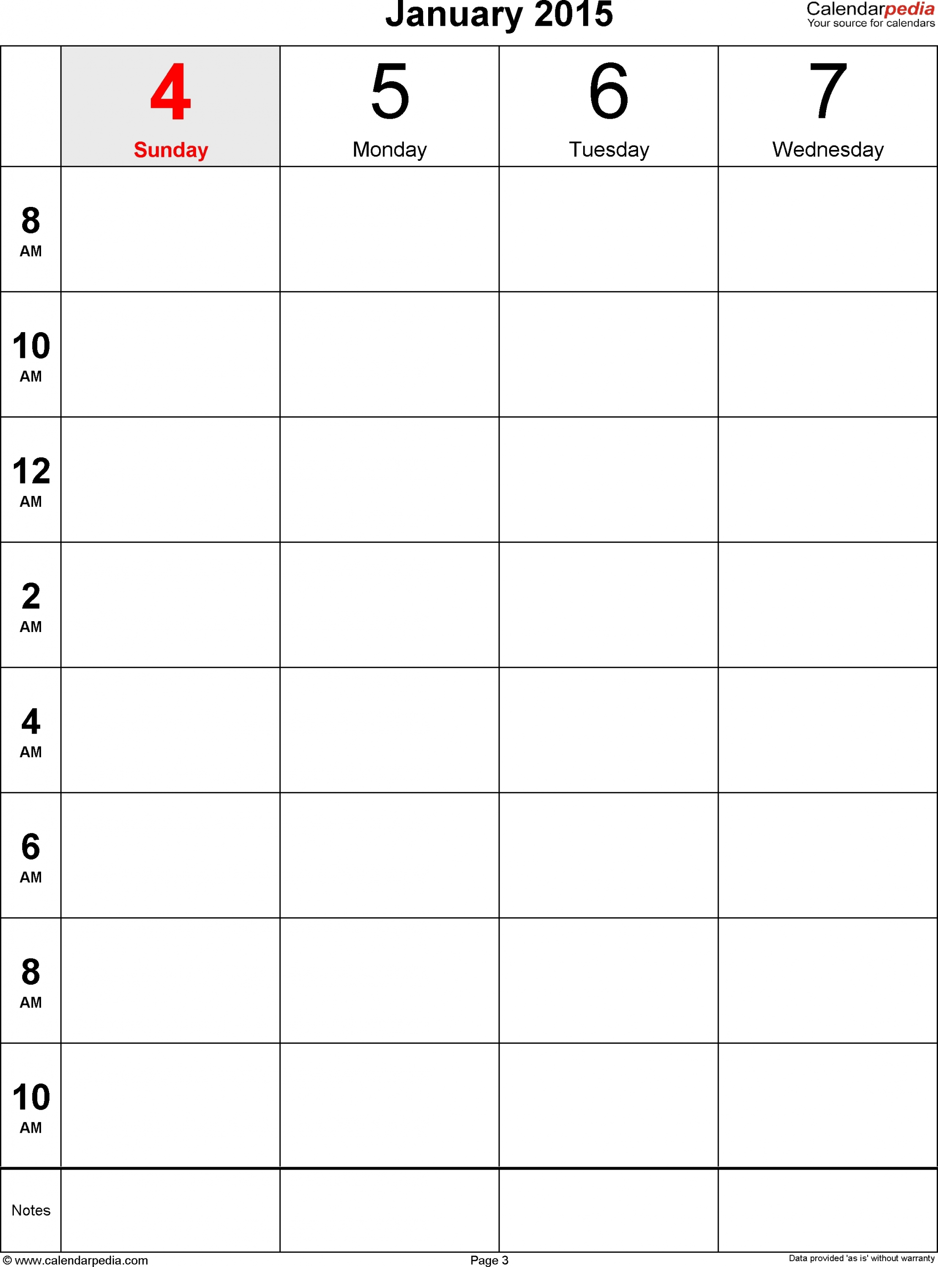 Printable Paper Of A Calinder Of The Next Two Weeks :-Free Calendar Template