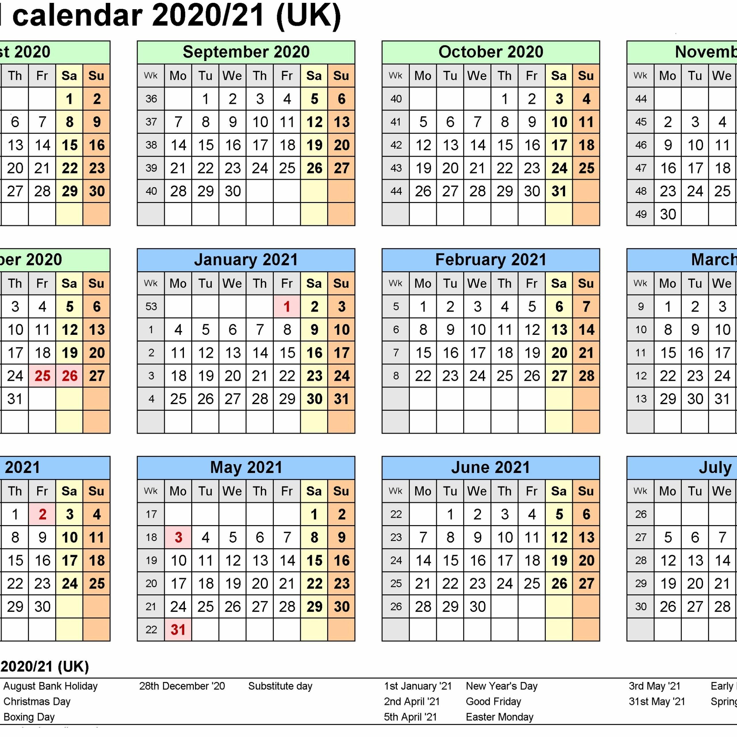 Quadax Julian Calendar 2021 - Calendar Template 2020