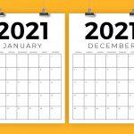 28 Day Expiration Calendar 2021