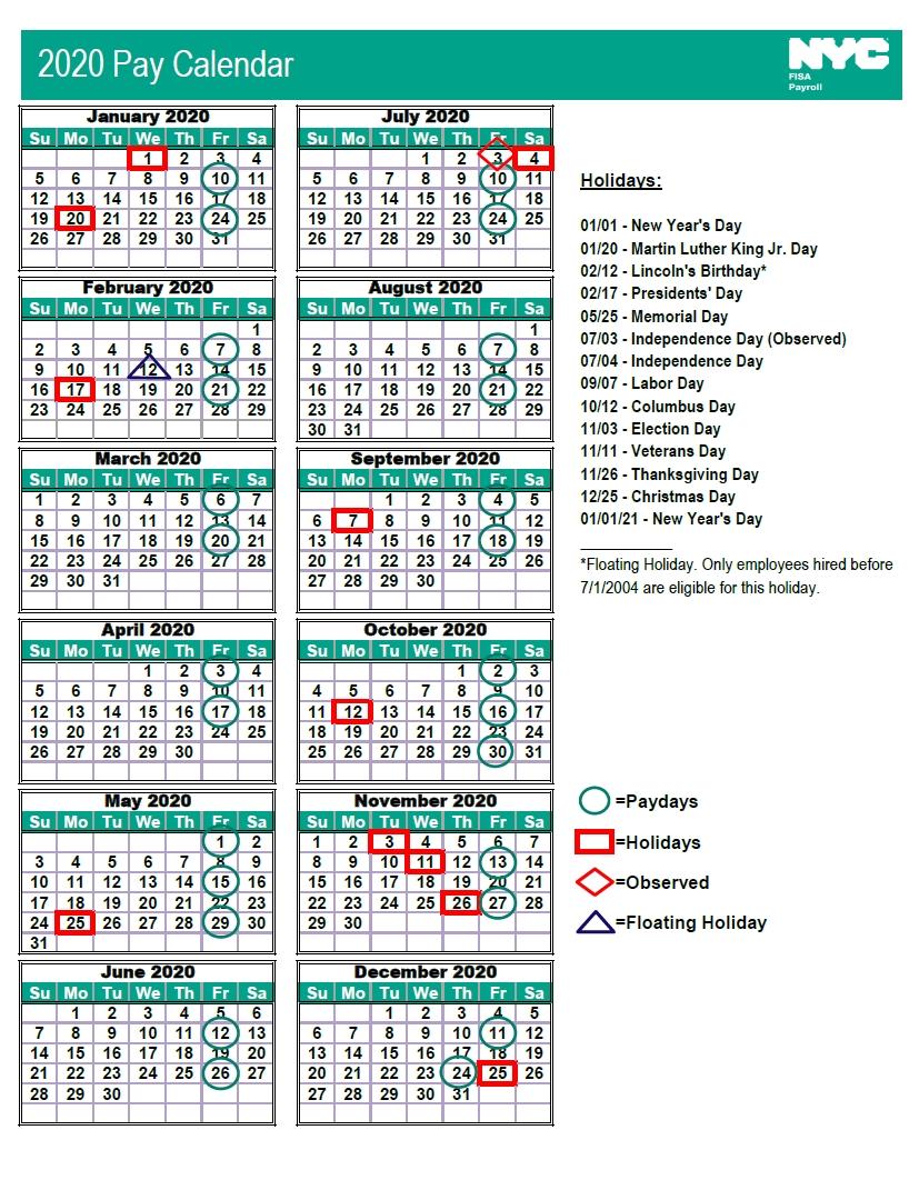 Ucsd 2021 Payroll Calendar