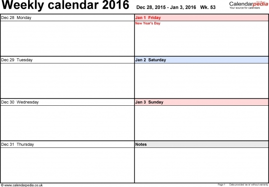 Weekly Calendar With Time Slots Week Months June And July   Printable Calendar Template 2020