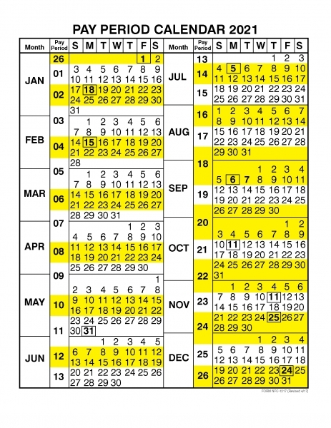 Where Can I Find The Opm Pay Period Calendar? | Printable Calendar Template 2020