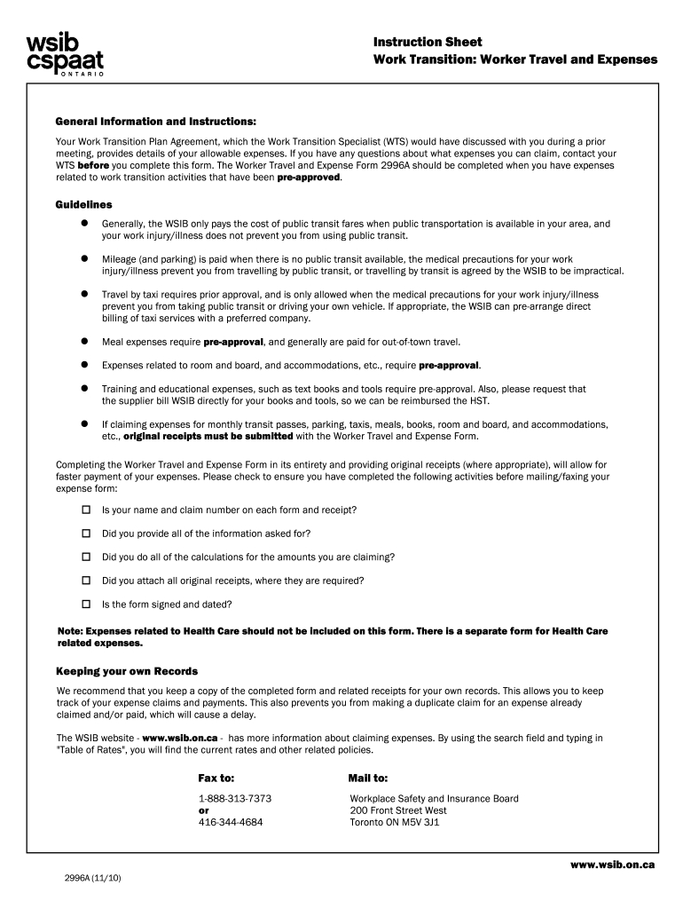 Wsib Ontario Online Services - Fill Online, Printable, Fillable, Blank | Pdffiller