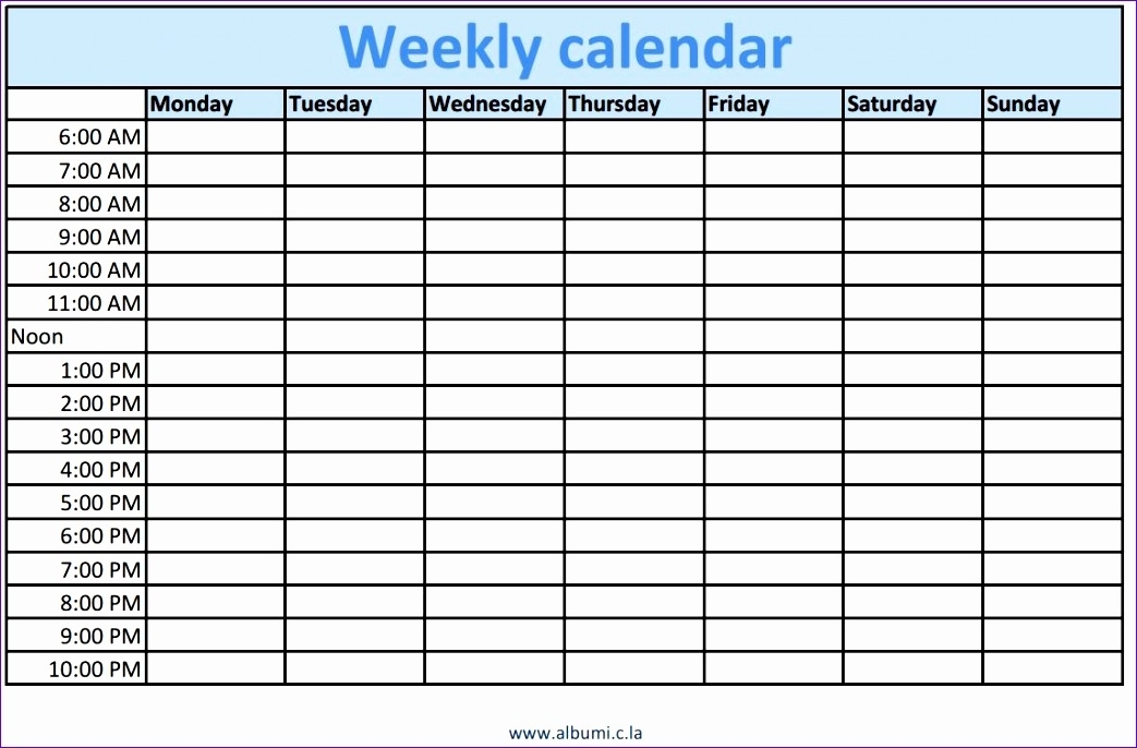 10 Excel Time Schedule Template - Excel Templates - Excel Templates