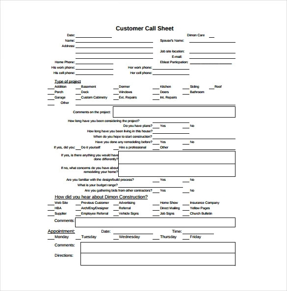 10+ Free Call Sheet Templates | Printable Word, Excel & Pdf Formats | Templates, School Calendar