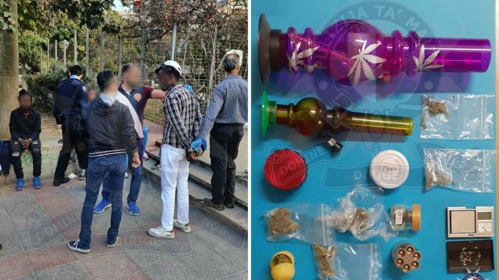 11 People Arrested In St Julian'S In Police'S Latest Weed Bust