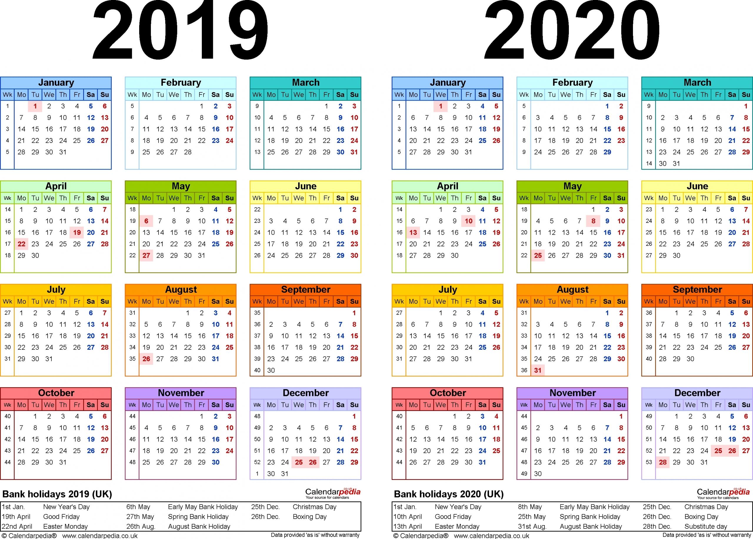2020 Calendar 365 Pdf   Month Calendar Printable