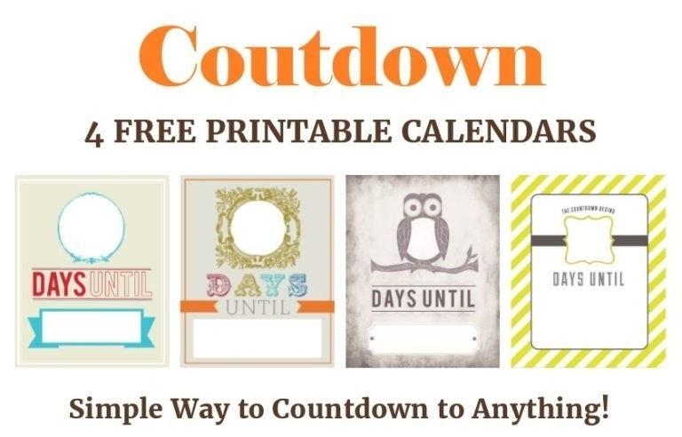 27 Fun Countdown Calendars To Anticipate Your Next Event Regarding Retirement Countdown Calendar