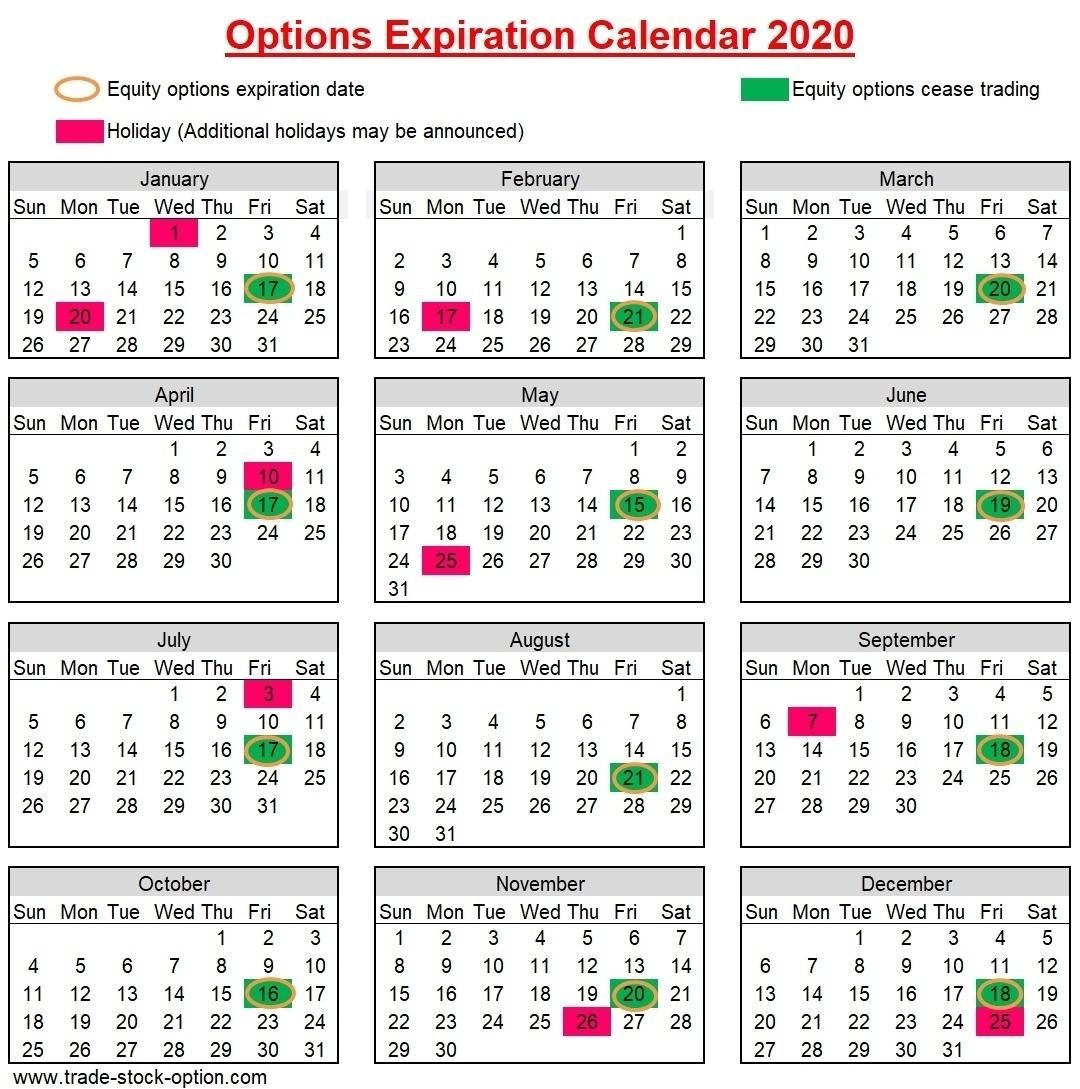 28 Days Expiry Calendar   Calendar Template 2020