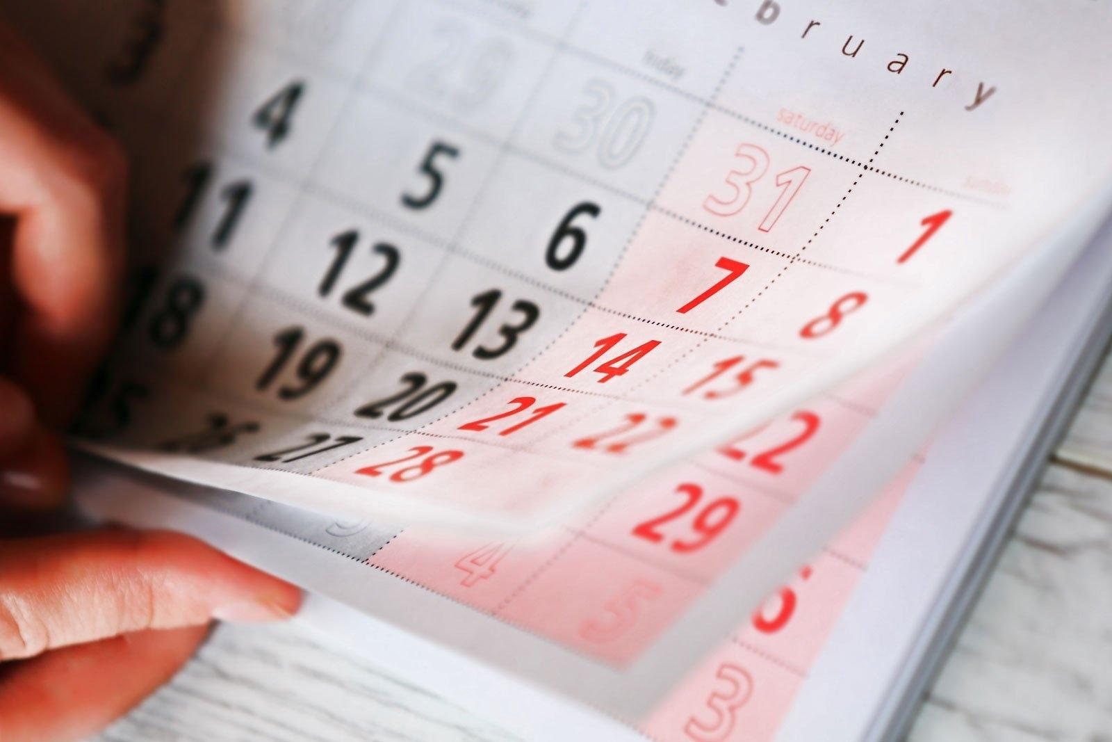 6 Month Short Timer Calandr :-Free Calendar Template