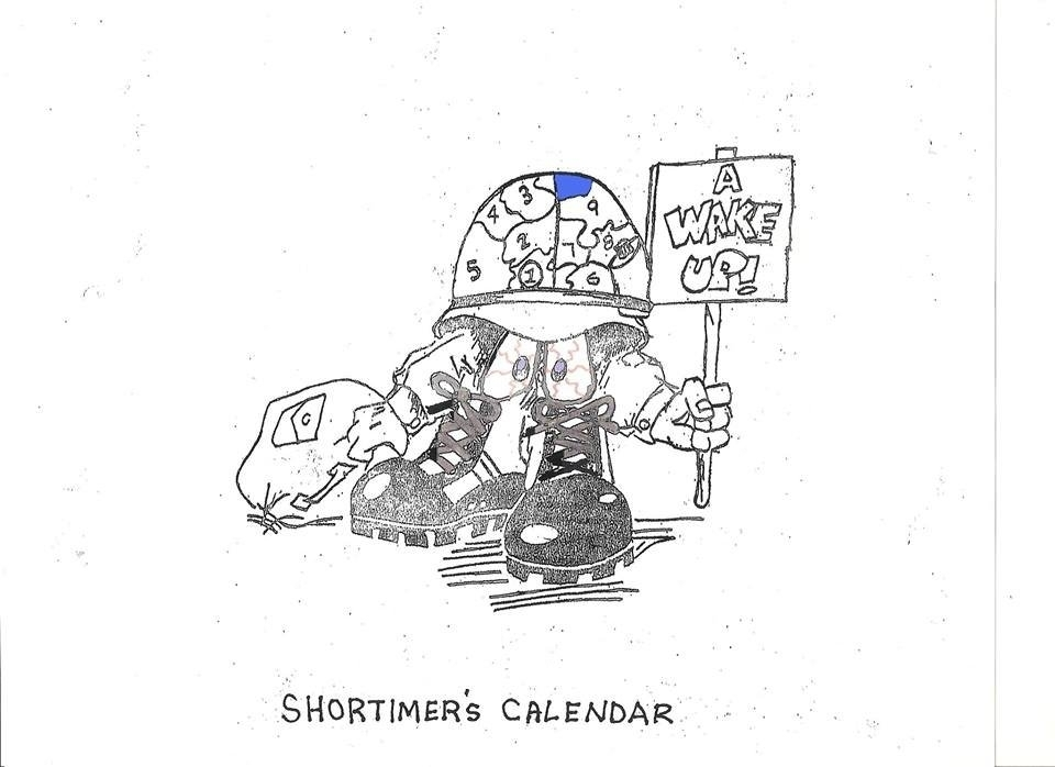 Army Short Timer Calendar Photo   Calendar Template 2020