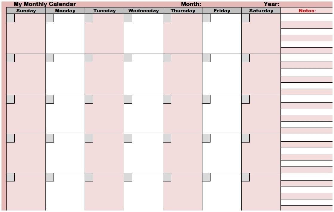 August 2018 - Page 13 - Template Calendar Design