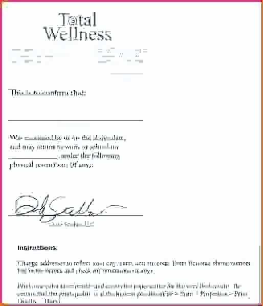 Blank Doctors Excuse Form In 2020 | Doctors Note Template, Doctors Note, Notes Template