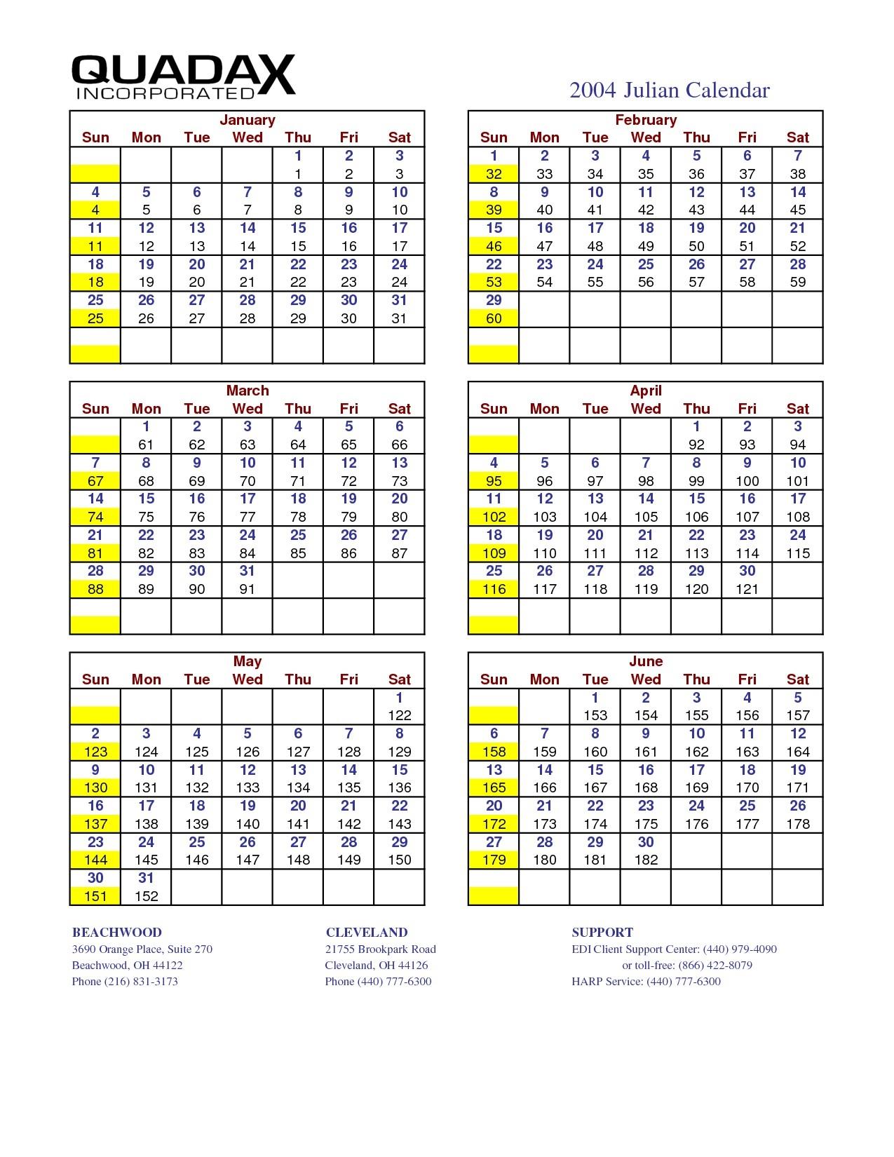 Calendar Julian 2021 Quadax   Free Printable Calendar