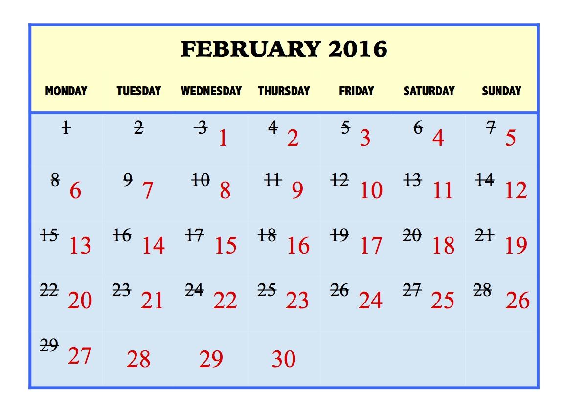 Calendar Year Number Of Days   Calendar Printables Free Templates