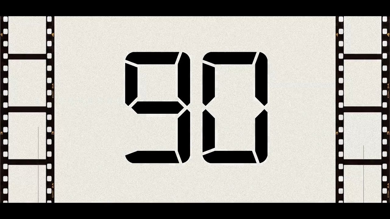 Countdown From 90 To 0 (Retro) - Youtube