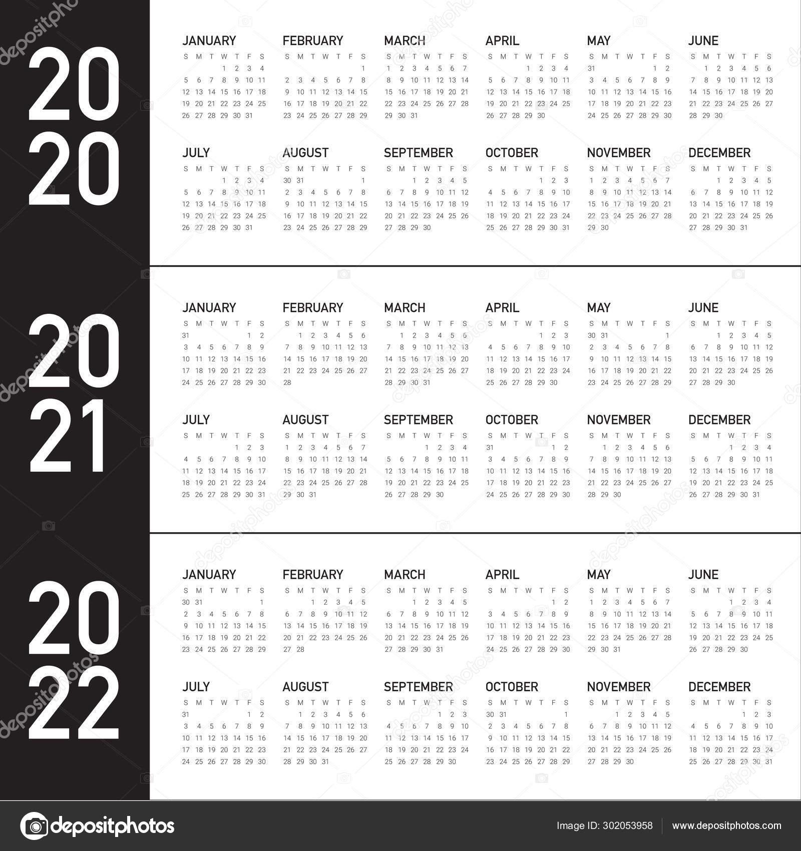 Depo Dates 2021 - Calendar Inspiration Design