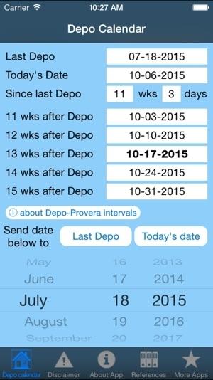 Depo Provera Calendar 2020 Leep Year / Depo Calendar On The App Store / Leap Years Help Keep Our