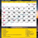 2021 Depo Shot 12 Week Calendar