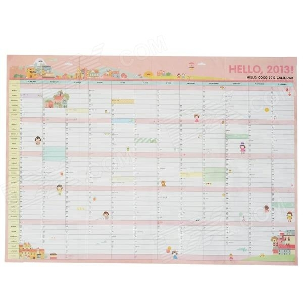 Diy 365-Day Calendar Schedule - Multicolored - Free Shipping - Dealextreme