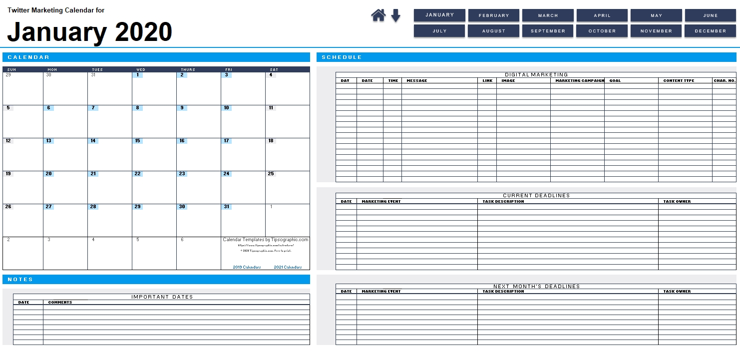 Download The 2021 Biweekly Payroll Calendar | Tipsographic
