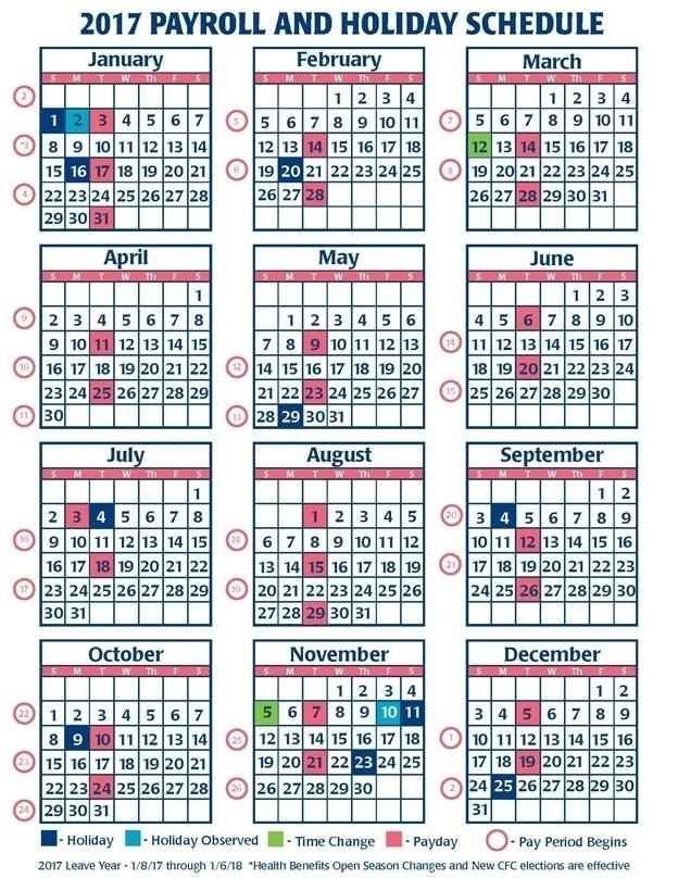 Federal Employee Calendar 2021 | Printable Calendar Template 2021
