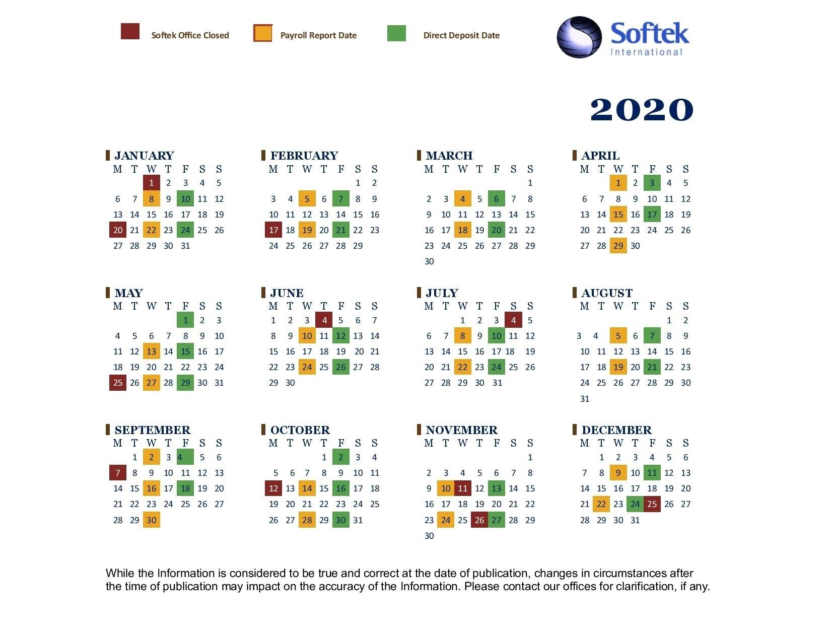 Federal Pay Periods 2020 Schedule - Calendar Inspiration Design