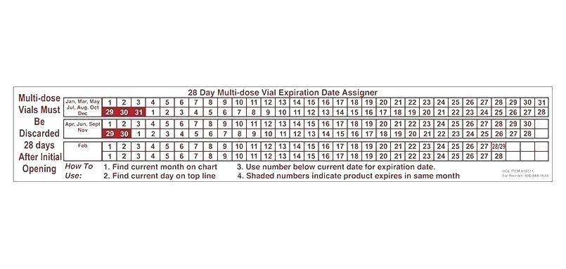 Free 28 Day Expiration Calendar :-Free Calendar Template