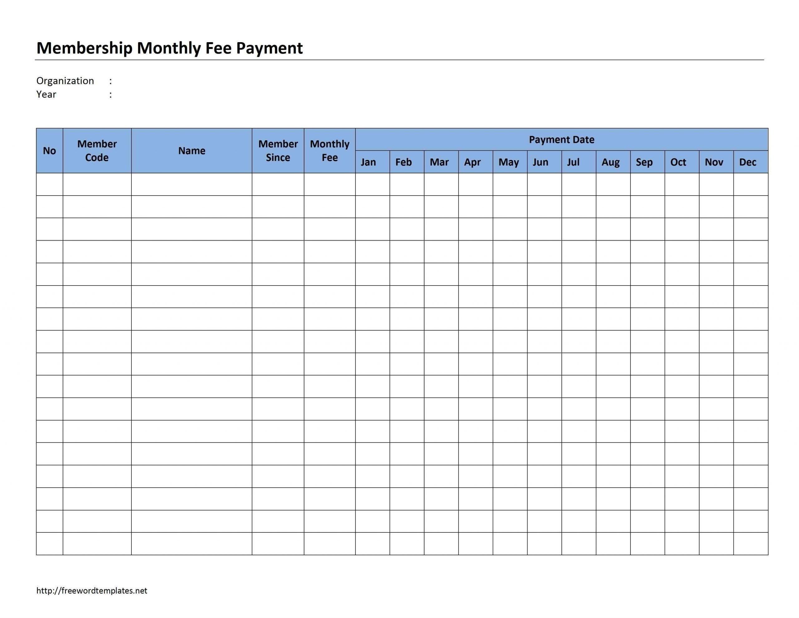 Free Attendance Sheet Pdf 2021 - Template Calendar Design