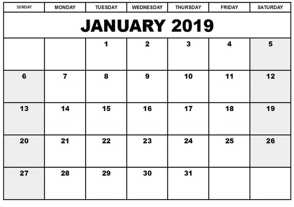 Free Count-Down Calendar Printable Graphics | Calendar Template 2020