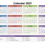 Calendar Date 2021 Printable With Horoscope