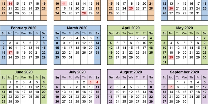 Fy 2020 Federal Pay Period Calendar | Free Printable Calendar