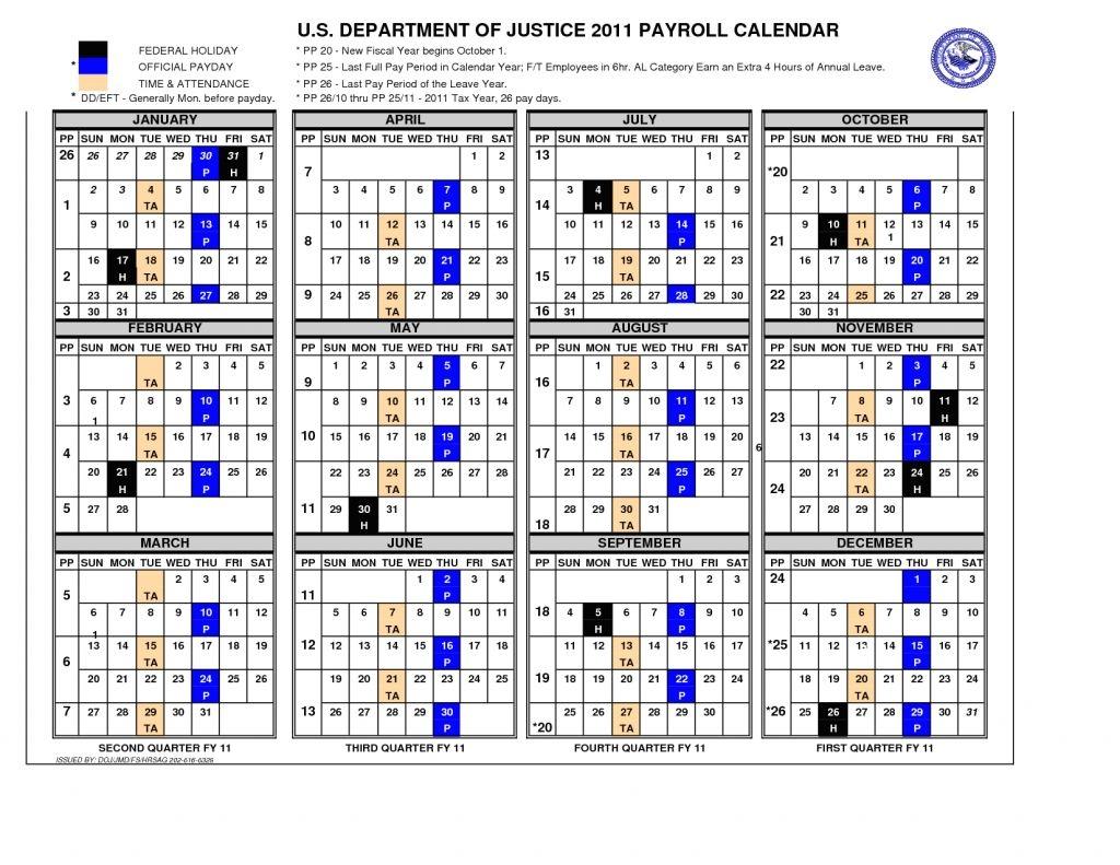 Gsa Pay Period Calendar 2020 | Free Printable Calendar