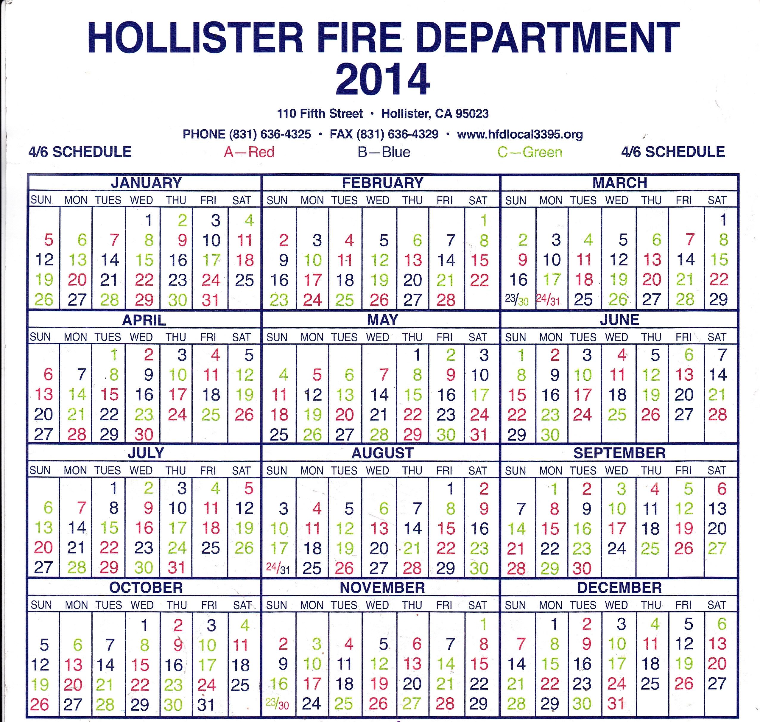 Hfd Shift Calendar 2021 | Calendar Printables Free Blank